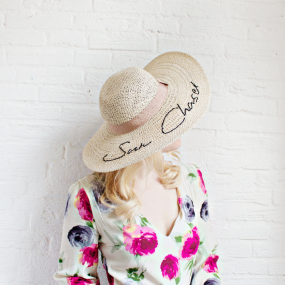 Embroidered Hat for Simply Sewing
