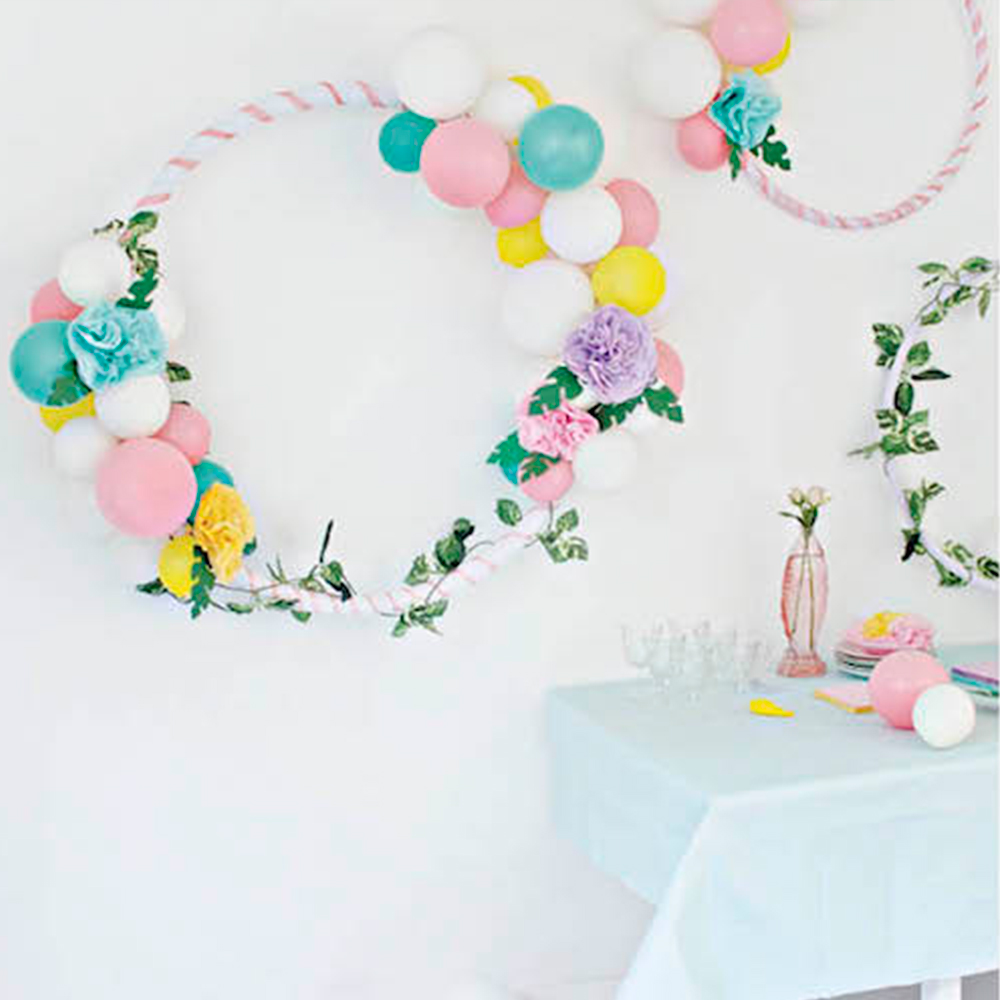 Party Wreath for Mollie Makes Magazine